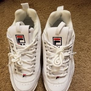 Fila Shoes - Fila Disruptor Sneakers Size 7.5 Almost new